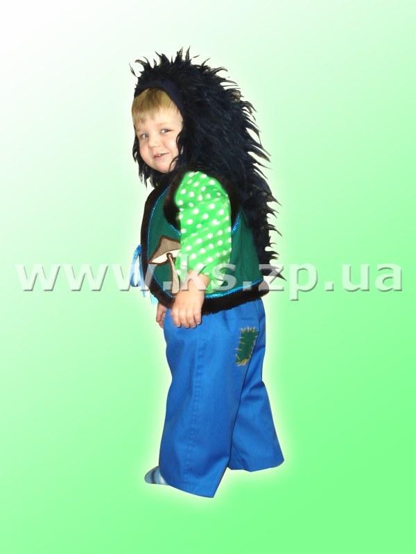 Костюм Ежика, меховой костюм Ёжика, карнавальный костюм Ежа. . Детский карнавальный костюм из искусственного меха